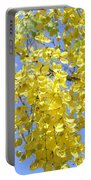Golden Medallion Shower Tree Portable Battery Charger