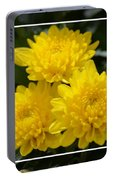 Golden Mums Of Autumn Portable Battery Charger