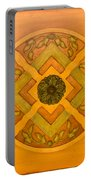 Golden Pattern 1 Portable Battery Charger