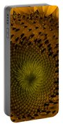 Golden Petals Portable Battery Charger