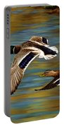 Golden Pond Portable Battery Charger by Crista Forest