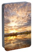 Golden Ponds Scenic Sunset Reflections 2 Portable Battery Charger