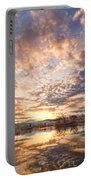 Golden Ponds Scenic Sunset Reflections 3 Portable Battery Charger