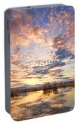 Golden Ponds Scenic Sunset Reflections 4 Portable Battery Charger