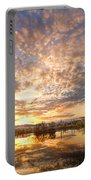 Golden Ponds Scenic Sunset Reflections 5 Portable Battery Charger