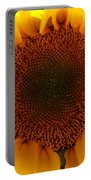 Golden Ratio Sunflower Portable Battery Charger by Kerri Mortenson