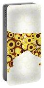 Golden Retriever - Animal Art Portable Battery Charger