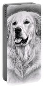 Golden Retriever Spence Portable Battery Charger