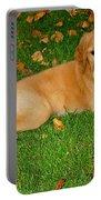 Golden Retriever Portable Battery Charger