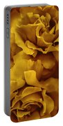Golden Yellow Roses Portable Battery Charger