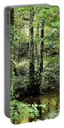 Golden Silence In The Forest Portable Battery Charger