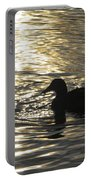 Golden Silhouette  Portable Battery Charger