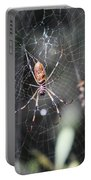 Golden Silk Spider Portable Battery Charger