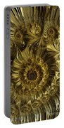 Golden Spiral Portable Battery Charger