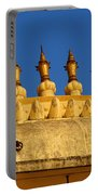 Golden Spires Udaipur City Palace India Portable Battery Charger
