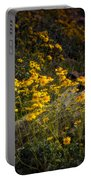 Golden Spring Flowers  Portable Battery Charger