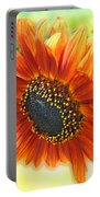 Golden Sunflower Portable Battery Charger