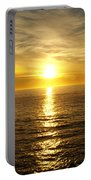 Golden Sunset Pismo Beach Portable Battery Charger