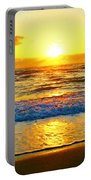 Golden Surprise Sunrise Portable Battery Charger