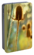 Golden Teasels Portable Battery Charger