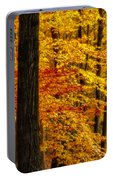Golden Trees Glowing Portable Battery Charger