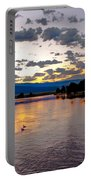 Golden Twilight Portable Battery Charger