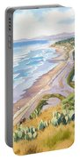Golden View From Torrey Pines Portable Battery Charger
