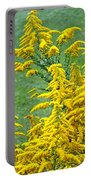 Goldenrod Flowers Portable Battery Charger