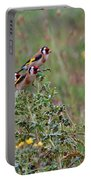 Goldfinches Portable Battery Charger