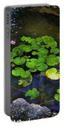 Goldfish With Lily Pads Portable Battery Charger