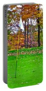 Golf My Way Portable Battery Charger by Frozen in Time Fine Art Photography