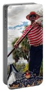 Gondola Ride In City Park New Orleans Portable Battery Charger