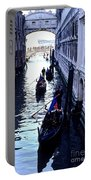 Gondoliers Venice Italy Portable Battery Charger