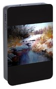 Goose Creek Winter Portable Battery Charger