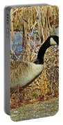 Goose On The Edge Portable Battery Charger