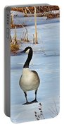 Goose Standing Portable Battery Charger