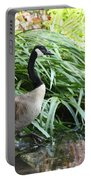 Goose Walking Back In For A Swim Portable Battery Charger