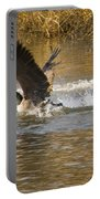 Goose Water Landing Portable Battery Charger