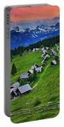Goreljek Shepherding Village In Alpine Portable Battery Charger