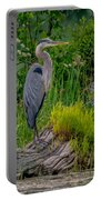 Gorgeous Heron Portable Battery Charger