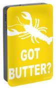 Got Butter Lobster Portable Battery Charger
