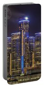 Gotham Detroit Portable Battery Charger by Nicholas  Grunas
