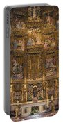 Gothic Altar Screen Portable Battery Charger by Joan Carroll