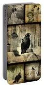 Gothic And Crows Portable Battery Charger