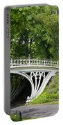 Gothic Bridge In Central Park Portable Battery Charger
