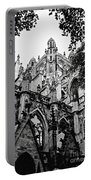 Gothic Cathedral Of Den Bosch Portable Battery Charger by Carol Groenen
