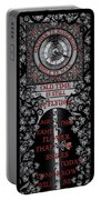 Gothic Celtic Impermanence Portable Battery Charger