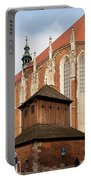 Gothic Church Of St. Catherine In Krakow Portable Battery Charger