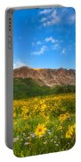 Gothic Meadow Portable Battery Charger