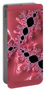 Gothic Pink Portable Battery Charger